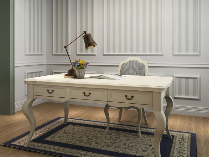 French Country Style Desk D Model MAX - French country desk