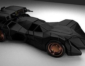3D asset Batmobile Armored
