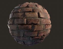 3D model Old Brick Substance