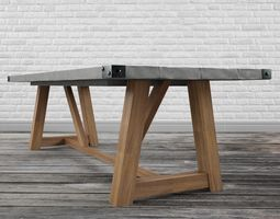 3D model Contemporary dinning table