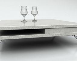 table Table 3D asset VR / AR ready