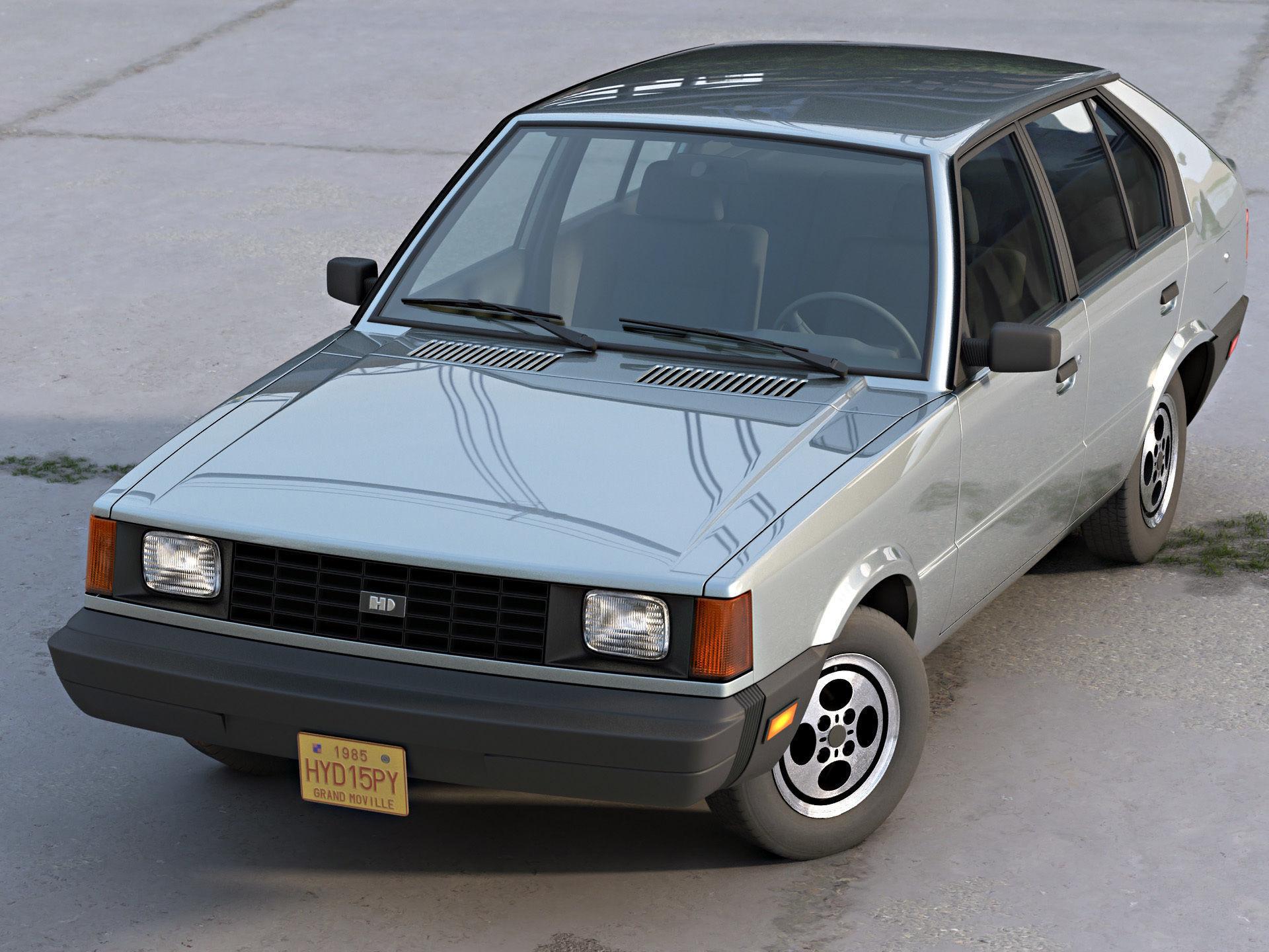 Hyundai Pony Canada 1985