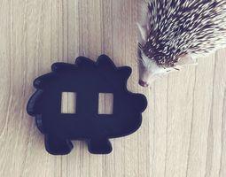 3D printable model Hedgehog cookie cutter