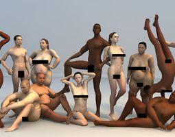 3D asset Ultimate Human Bundle