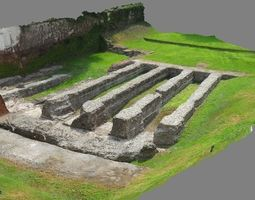 3D Roman amphitheatre of Milan