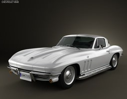 Chevrolet Corvette Sting Ray C2 1965 3D