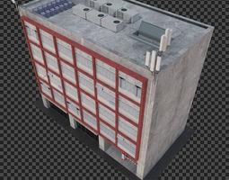 Building in low cost poor area 3D model