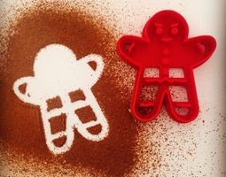 Gingerbread Cookie Cutter 3D printable model