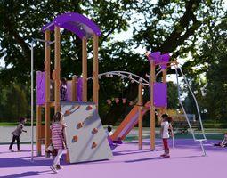 Galopin FUSION AF002AL playground 3D