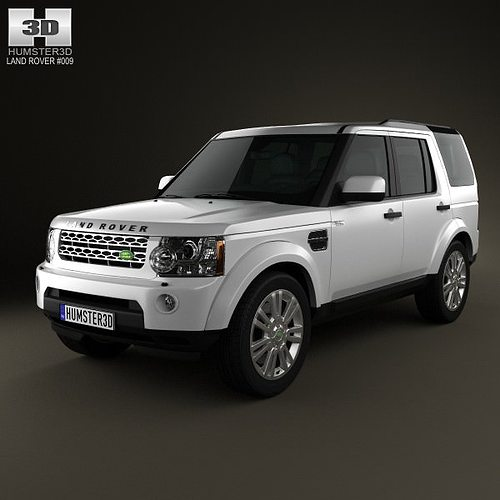 3D Model Land Rover Discovery 4 LR4 2012