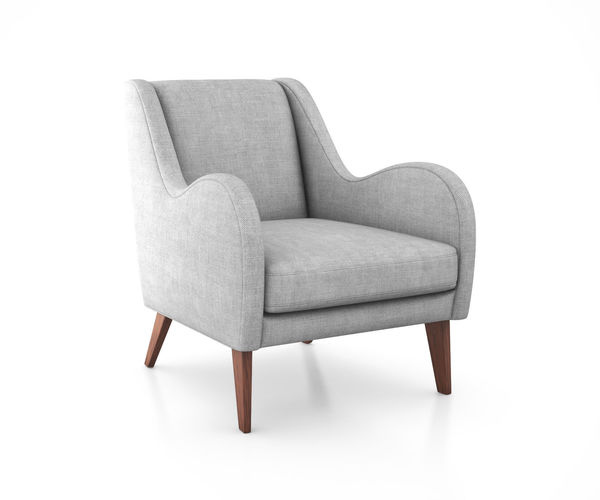 sebastian chair by west elm 3d model max obj mtl tga 1