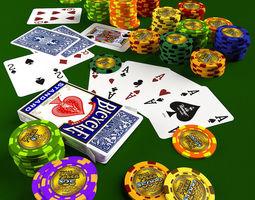 3D Poker Set