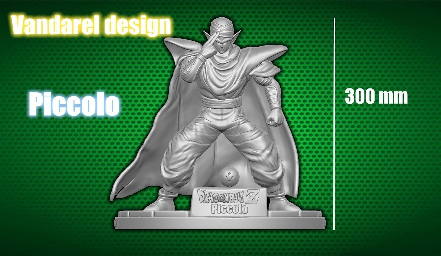 Piccolo 3D Printing Miniature 3D print model   3D Print Model