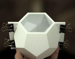 3D printable model Geometric Vase Mold