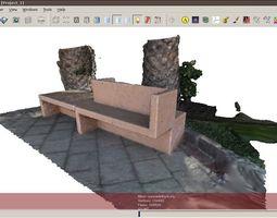concrete bank 3D model