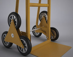 Sack Truck 3 3D Model