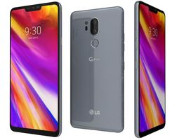 3D LG G7 ThinQ Platinum Gray