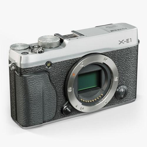 Fujifilm X-E1 Silver mirrorless digital camera