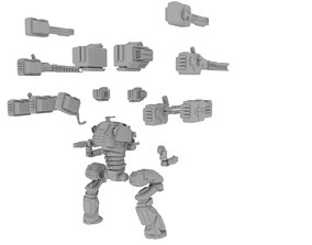28mm Sci-Fi Support Mech 3D printable model