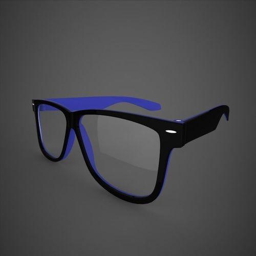 glasses 3d model max obj mtl fbx ma mb 1