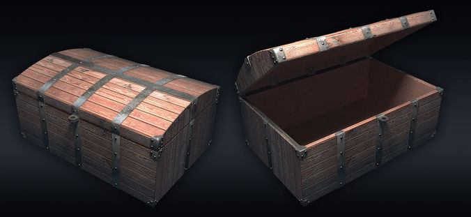 chest 01 3d model max obj mtl 3ds fbx 1