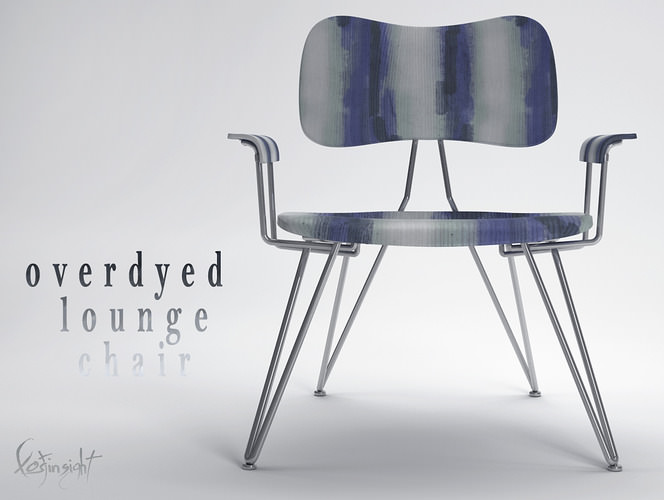 Overdyed Lounge Chair3D model