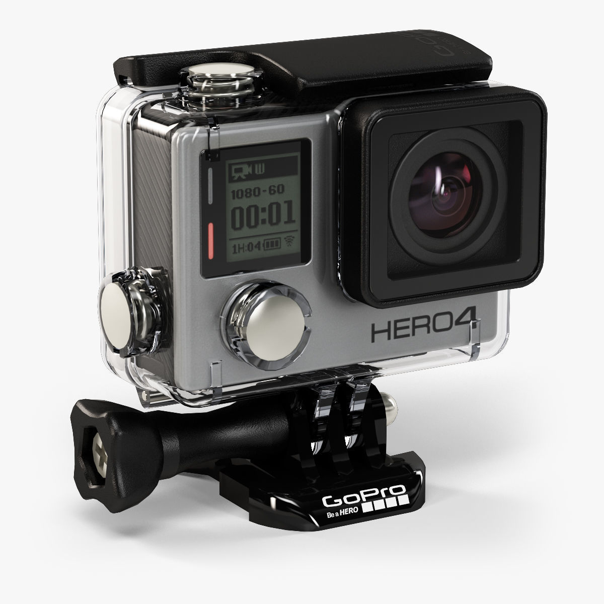 GoPro HERO4 Silver Edition action camera with Waterproof Housing