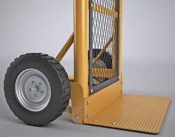 sack truck 4 3d model max obj mtl