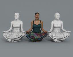Veronica - Lotus pose 3D print model