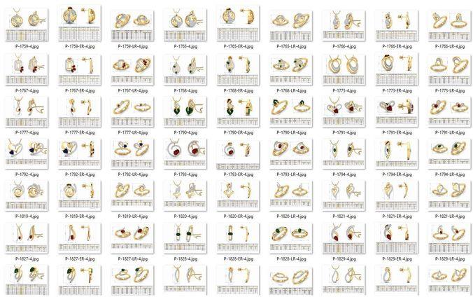 collection- bulk pendant sets-0006-stl-21 files 3d model stl 1