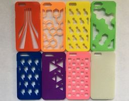 iphone 6 and iphone 6 s cases 3D print model harpoon