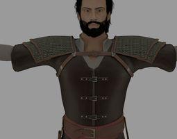 Ottoman Warrior 3D model