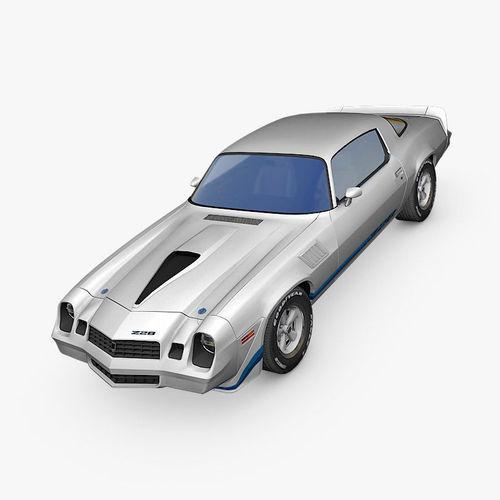chevrolet camaro z28 1979 3d model max fbx c4d dae 1