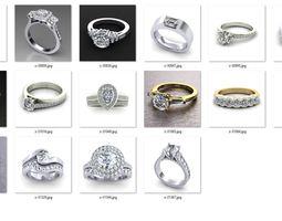 3D print model Rings in bulk-0026