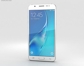 3D model Samsung Galaxy J5 2016 White