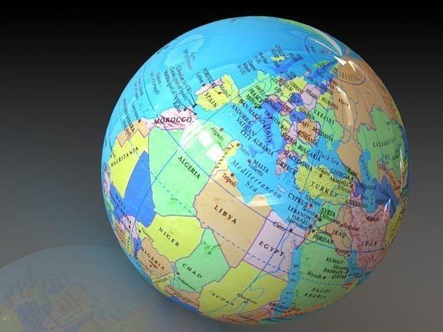simple globe 3d model stl sldprt sldasm slddrw ige igs iges 1
