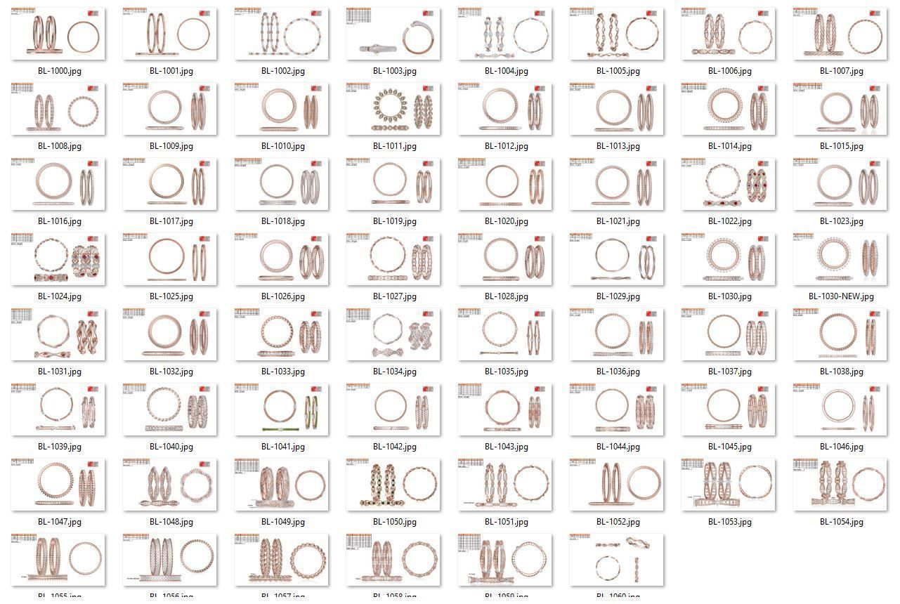 Collection- Bulk Bangles-0001-jcd-62 Files