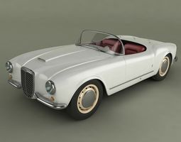 Lancia Aurelia B24 3D model