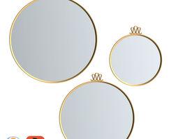 Gubi Randaccio Mirror 3D