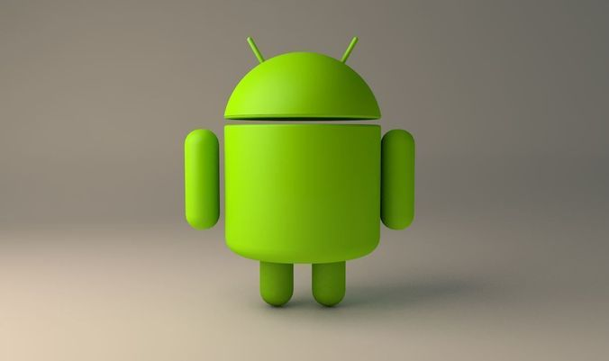 Android Logo 3D Model OBJ 3DS C4D - CGTrader.com