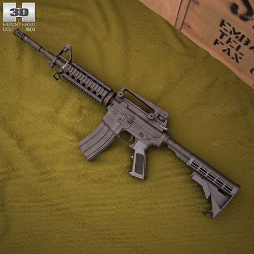 Colt M4A13D model