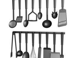 3d model cookware