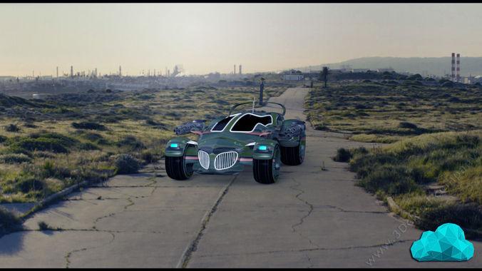 Hexa Car3D model