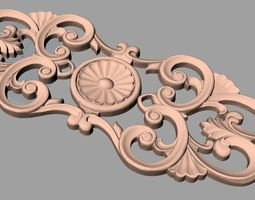 CNC 3D relief models STL format file used for game-ready 2