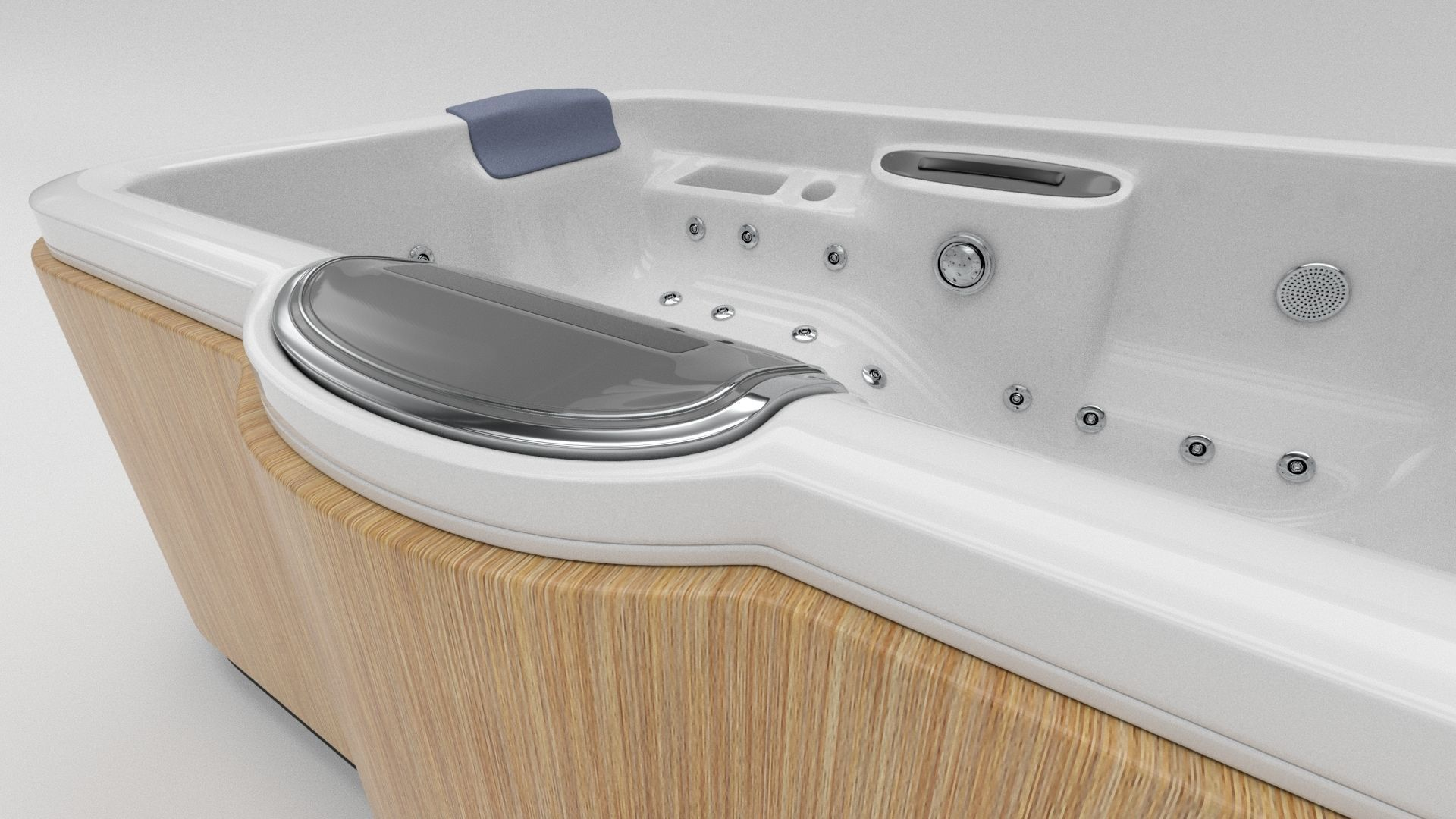 3D asset Hot Tub Whirlpool Spa | CGTrader
