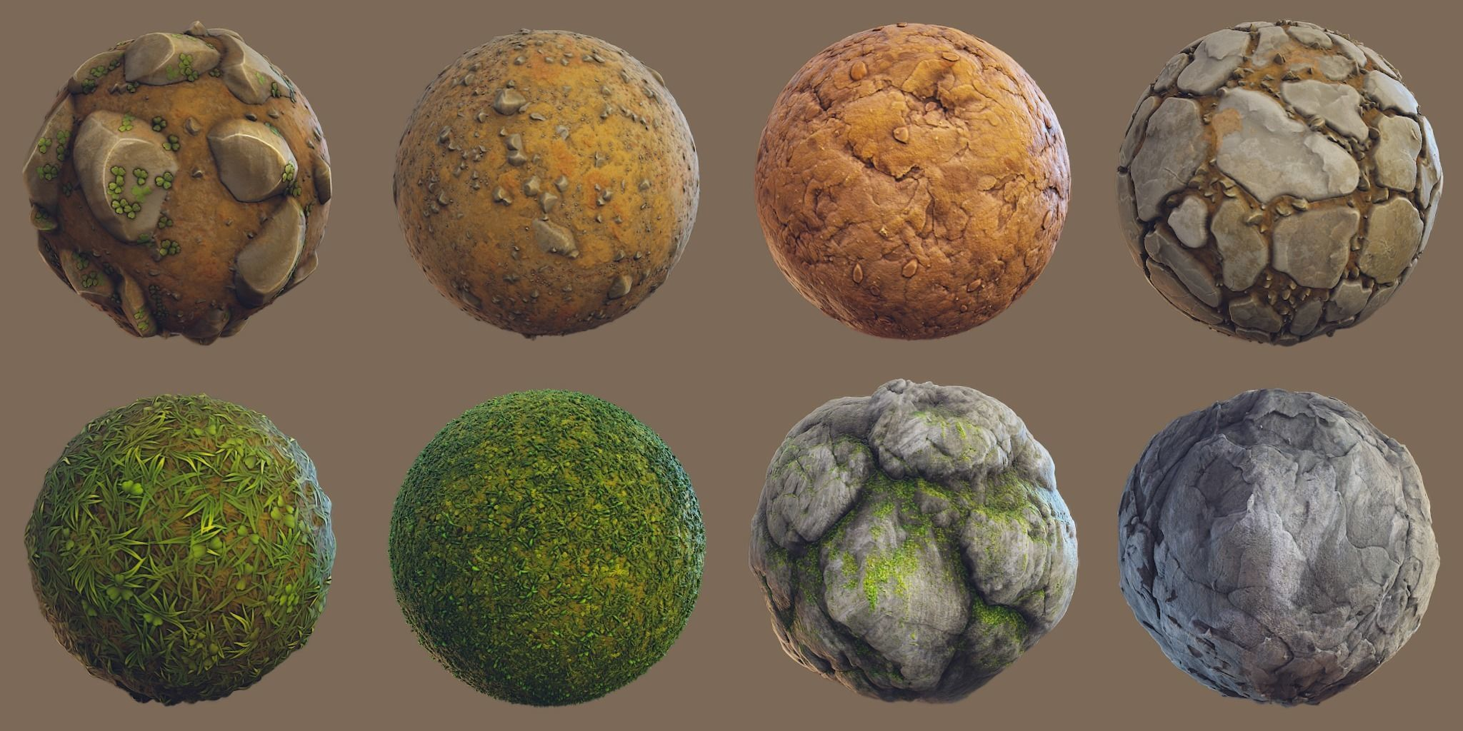 Forest - Stylized PBR materials