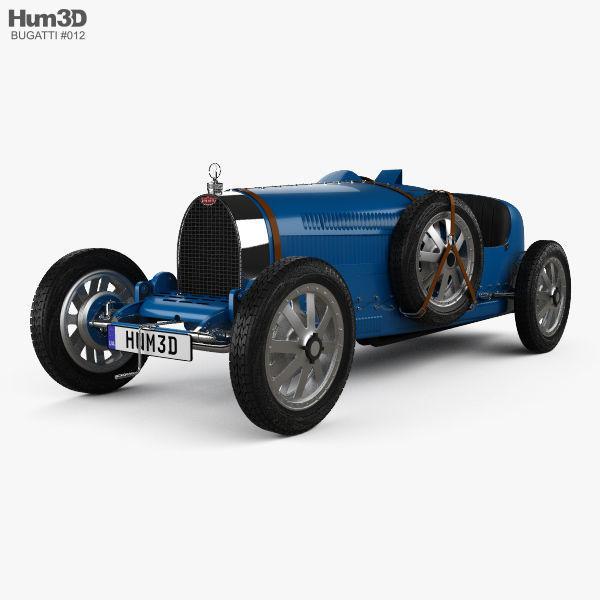 Bugatti Type 35 with HQ interior 1924