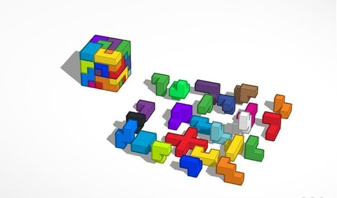 acb50de192c34 Homemade Puzzle Cube | 3D Print Model
