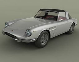 3D model Ferrari 330 Targa