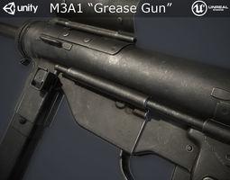 3D model M3A1 Grease Gun